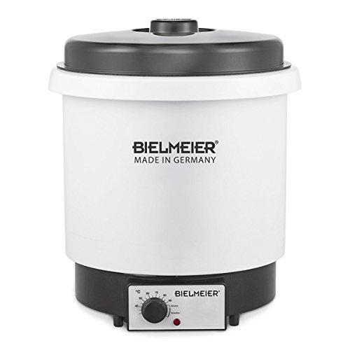 BIELMEIER Einkochautomat Einkochtopf 29 Liter Kunststoff 2000 W BHG650.0
