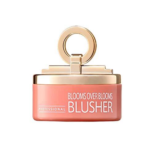 Allbestaye Rouge Peach Blush Bronze Wasserfest Schimmer Bronzer Bronzing Puder Natürlichen
