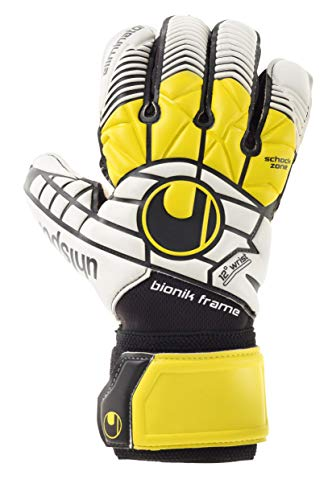 uhlsport Handschuhe ELIMINATOR SUPERSOFT BIONIK Torwart, schwarz, 10