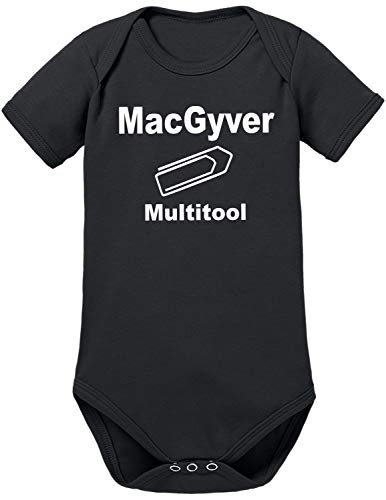 TShirt-People MacGyvers Multitool Baby Body 68 Schwarz