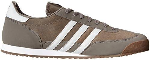 Amazon.com   adidas Mens Dragon Grey White G63395 14   Shoes