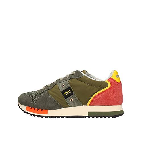 Blauer USA r Sneaker Low S0queens01/sto Grun Herren - 43 EU