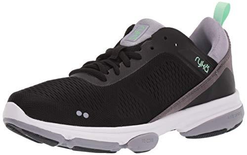 Ryka Women's Devotion XT 2 Training Shoe, Black, 6