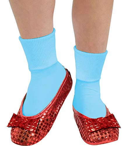 Rubie's Wizard Of Oz Deluxe Adult Dorothy Sequin Shoe Covers, Red, One Size Fits Most