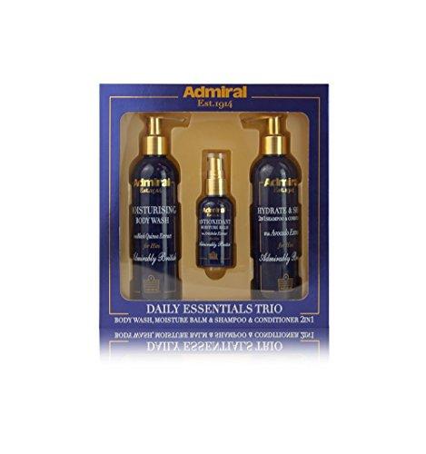 Daily Essentials Trio: Body Wash, Shampoo, Moisturising Balm
