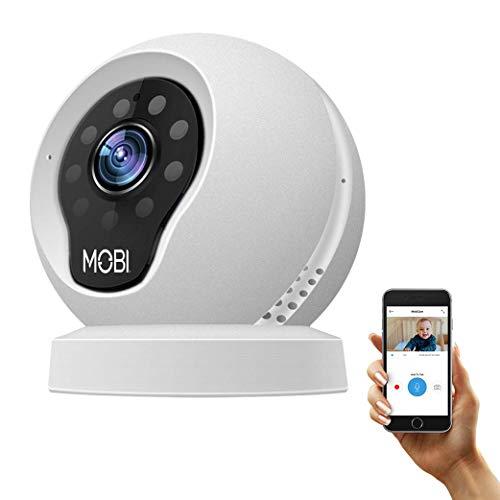 MobiCam Multi-Purpose Monitoring System, Baby Camera Monitor, HD Surveillance Video, Two-Way Talk, Night Vision Motion, Remote Surveillance Camera