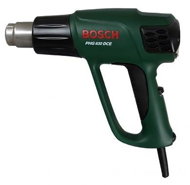 Foto di Bosch PHG 630 DCE heat gun 500 l/min Nero, Verde, Acciaio inossidabile 2000 W