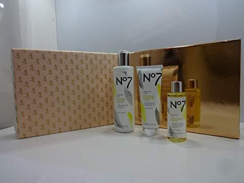 Cyber Monday Sale ~ N ° 7 et Dix-sept 10pc Maquillage Beauté Panier cadeau avec gratuit des P Cordon de serrage Sac