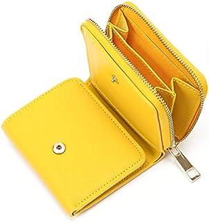 三つ折り財布 の 小さい 財布 三つ折り 三つ折 メンズ レディース コンパクト で 使いやすい 小銭入れ ラウンドファスナー