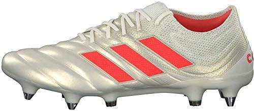 Adidas Copa 19.1 SG, Botas de fútbol Hombre, Multicolor (Casbla/Rojsol/Negbás 000), 41 1/3 EU ⭐