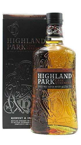 Highland Park CASK STRENGTH Single Malt Scotch Whisky Release 1 63,3% Volume 0,7l in Geschenkbox Whisky