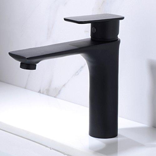 GZ-Faucet Européenne Noir cuivre Chaud et Froid Bassin Robinet lavabo Main au-Dessus du Compteur Bassin Salle de Bain Robinet