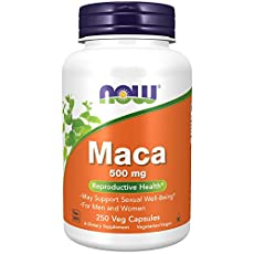 Image of NOW Supplements Maca. Brand catalog list of Now Foods.