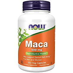 Maca 500 mg. Quality Made Supplement