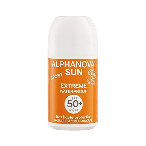 ALPHANOVA - Sun protection solaire extrême waterproof SPF50+ BIO - 50g