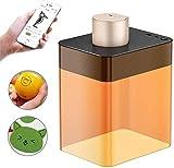 Vogvigo Mini Grabador Láser con Caja de Protección de Seguridad, Grabadora Portátil de Grabado Láser para el Hogar Mini Impresora Láser Compacta de Grabado