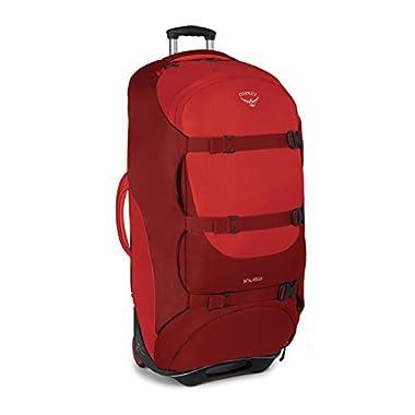 Osprey Shuttle 36 /130 L Wheeled Luggage, Diablo Red