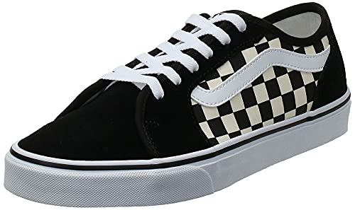 VANS Filmore Decon, Zapatillas Hombre, Checkerboard Black White 5GX, 44 EU