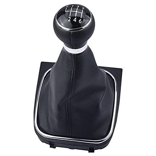 Ayughj 1pc 5 o 6 velocidades de Cambio de velocidades Máquinas de Cambio de plástico y Espeluznante Resistencia al Desgaste Duradera para VW Golf MK6 2009-2012 (Color Name : 6 Speed)