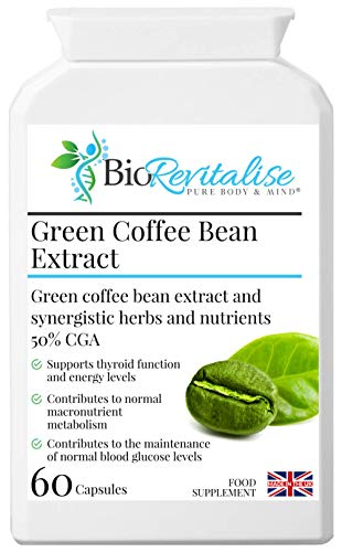 Green Coffee Bean Extract - Weight Loss Formula 60 Capsules
