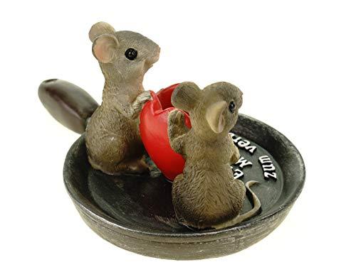 art decor Geldgeschenk, Spardose EIN Paar Mäuse zum verbraten - 6
