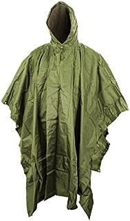 Kombat Army Waterproof Military Combat Hooded Basha Poncho US & British Army Style