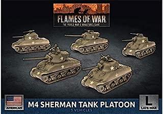 Flames of War: Late War: United States: M4 Sherman Tank Platoon (UBX69)