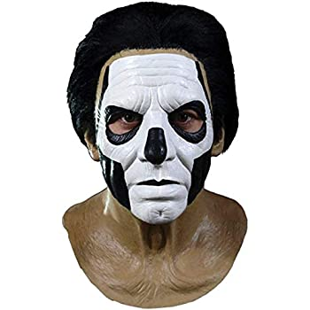 Ghost Papa III Standard Full Head Mask Brown Black White One-Size