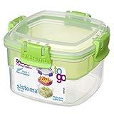 Sistema 21320 - Contenitore Per Cibo Snacks To Go, 400 ml, [Colori Assortiti]