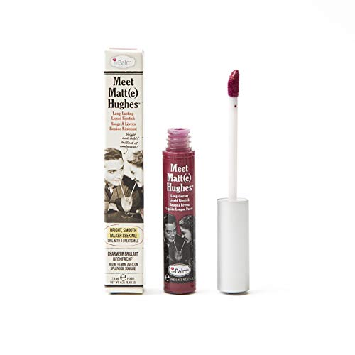 theBalm Meet Matte Hughes Liquid Lippenstift, Dedicated,1er Pack (1 x 7.4 ml)