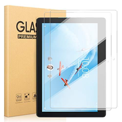 [2 Piezas] Protector de Pantalla para Lenovo Tab E10, Alta Definición 9H Dureza [Bubble Free] [Anti-Arañazos] Pantalla Cristal Templado Proteccion Compatible con Lenovo Tab E10 10.3 Pulgadas TB-X104F