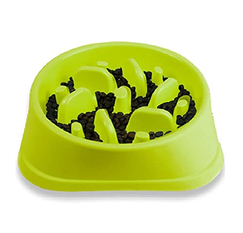 Decyam Comedero Perro Gato, Antideslizante Alimentacion Plato alimentador Tazon Comedero para Mascotas Bebedero Cuenco Bol Recipiente