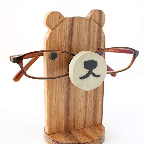 『メガネスタンド クマ』 【メガネスタンド おしゃれ かわいい おもしろ 収納 眼鏡スタンド メガネ置き 眼鏡置き アニマルメガネスタンド 老眼鏡 めがね プレゼント アニマル 動物 雑貨】