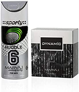 MARYAJ Dynamic Gift Set For Men (Edp 100 ml + Deo Spray 150 ml)