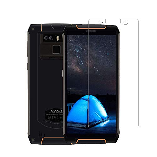 Zshion for CUBOT King Kong 3 Screen Protector,9H Hardness Tempered Glass Screen Protector for CUBOT King Kong 3 with Anti-Fingerprint Bubble-Free Crystal Clear