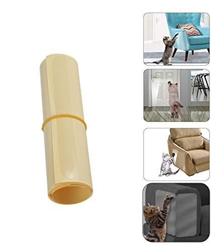 2 STKS Cat krasbeschermers zelfklevende huisdier bank beschermer duidelijk huisdier meubels Guard onzichtbare plastic bank schild deur beschermer pad voor meubels bank bekleding muur matras auto stoel