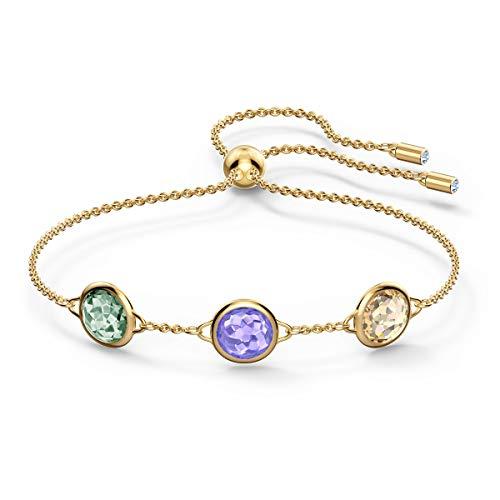 Swarovski Tahlia Armband, Vergoldetes Damenarmband mit Funkelnden Swarovski Kristallen