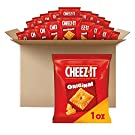 Cheez-It Baked Snack Cheese Crackers, Original, School Lunch Snacks, 1 oz Bag (40 Bags)