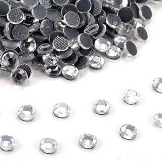1440pcs DIY Strass termoadhesiva Hotfix Diament transparente