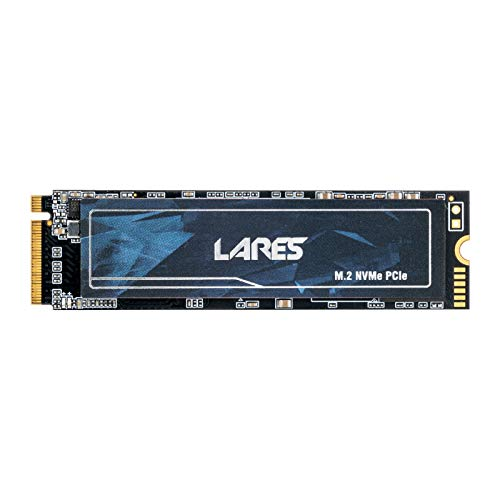LEVEN 512GB 3D NAND NVMe Gen3x4 PCIe M.2 2280 SSD(Solid State Drive)- Extreme Performance with Graphene Sticker and DRAM Cache - Read Up to 3400MB/s, Write Up to 2600MB/s - (JPR700-512GB)