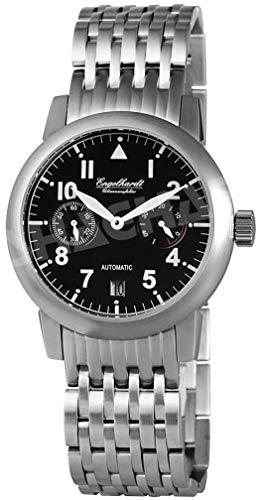 Engelhardt Herren Analog Mechanik Uhr mit Edelstahl Armband 388921028002