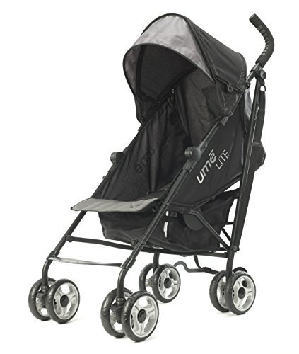 Summer Infant Ume Lite - Cochecito para bebés, color negro