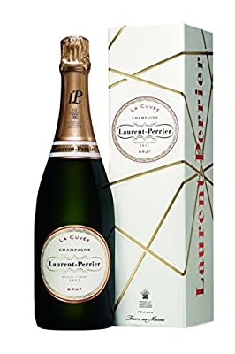 Laurent Perrier La Cuvee Brut Non Vintage Champagne in Gift Box, 75cl