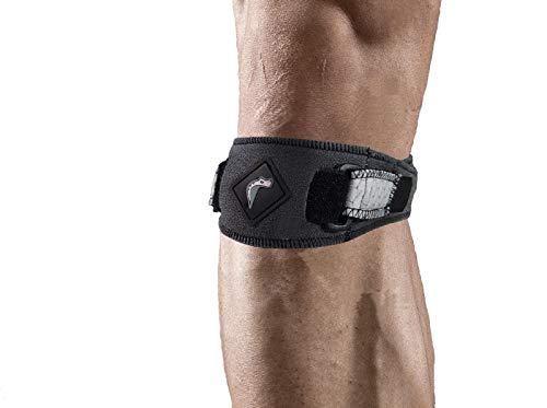 MAMBA Be in action MA3101 Cinturino sottorotuleo Knee-Band fascia rotula ginocchio fibra carbonio C6Tex combinato