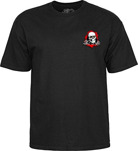 Powell Peralta Support Your Local Skate Shop - Camiseta Grande Negra