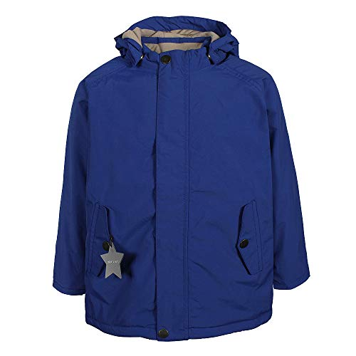 MINI A TURE Kinder Winterjacke Wally 19 Quartz blau, Größe:92 cm/1-2 Years