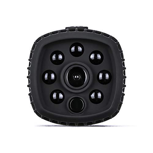 QuwN-WiFi bewakingscamera, draadloos, HD, klein, draagbaar, mini-camera, outdoor-sport, ontvangstbereik, binnenmonitor, 1080p, zwart