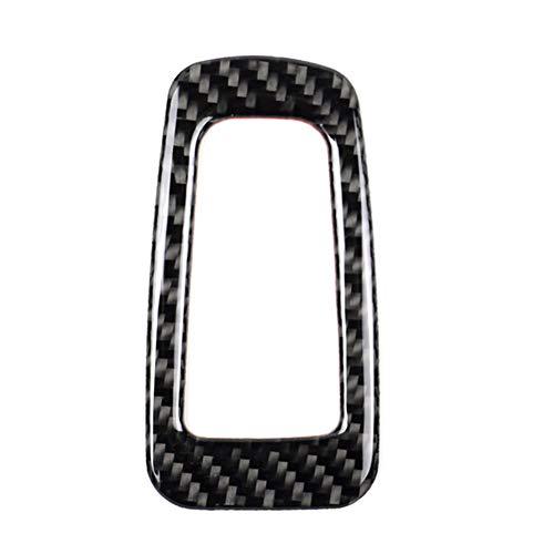 Demarkt Carbon ABS Innen Zubehör Elektronischer Handbremse Aufkleber Feststellbremse Verkleidung für C-Klasse W205 2015-2018 GLC X253 2016-2018