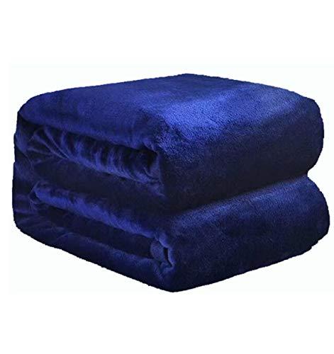 LLCXL zachte deken, dekbedovertrek, zacht, gezellig, onderhoud, deken geschikt voor kniedeken