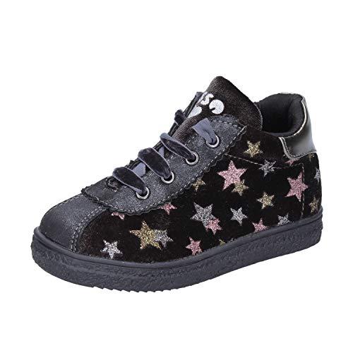 Asso Sneakers bébé Fille Velours Gris 20 EU